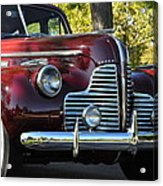 Ruby Red Buick Acrylic Print