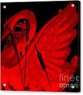 Ruby Red Swan Acrylic Print