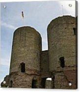 Ruddlan Castle Acrylic Print