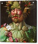 Rudolf II Of Habsburg As Vertumnus Acrylic Print