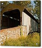 Rudolph Arthur Covered Bridge Acrylic Print