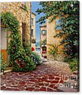 Rue Anette Acrylic Print by Michael Swanson