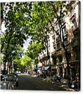 Rue Caulaincourt Montmartre Acrylic Print