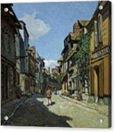 Rue De La Bavole Acrylic Print