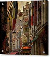 Rue Des Bouchers Acrylic Print