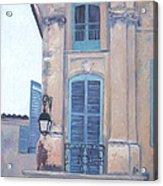 Rue Espariat Aix-en-provence Acrylic Print