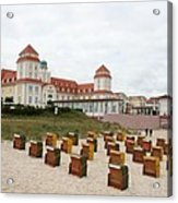 Ruegen Island Beach - Germany Acrylic Print