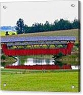 Ruffner Covered Bridge Acrylic Print