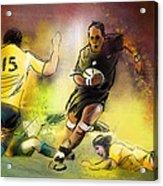 Rugby 01 Acrylic Print