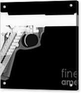 Ruger 22 45 Reverse Acrylic Print