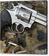 Ruger Security Six Stainless Acrylic Print