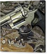 Ruger Security Six Still Life Acrylic Print