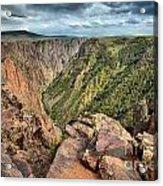 Rugged Edge Of The Canyon Acrylic Print