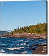 Rugged Lake Superior Coastline Acrylic Print