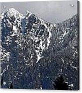 Rugged Mountain Acrylic Print