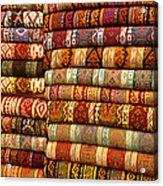 Rugs Kilims Carpets Grand Bazaar Istanbul Turkey Acrylic Print