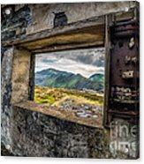 Ruin With A View  Acrylic Print
