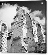 Ruined Area Of The Old Roman Colloseum At El Jem Tunisia Acrylic Print