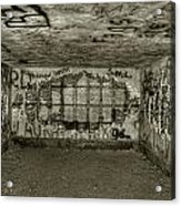 Ruined Bunker Acrylic Print