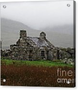 Ruined Cottage Snowdonia Acrylic Print