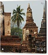 Ruins At Sukhotai Acrylic Print