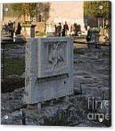 Ruins At The Roman Forum Acrylic Print