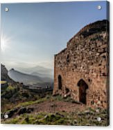 Ruins Of A Stone Building  Corinth Acrylic Print
