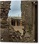 Ruins Of Al Hamra Acrylic Print