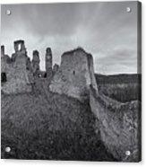 Ruins Of European Medieval Acrylic Print
