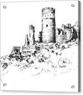 Ruins Of Furstenburg Castle Acrylic Print