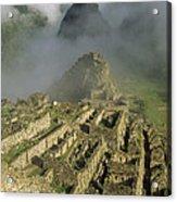 Ruins Of Machu Picchu Peru Acrylic Print