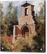 Ruins Of Morley Church Acrylic Print by Sam Sidders