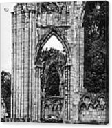 Ruins Of St. Mary's Abbey Acrylic Print
