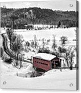 Ruisseau Meech Bridge Acrylic Print