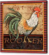 Ruler Of The Roost-3 Acrylic Print