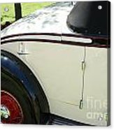 1934 Bruster Rumble Seat Access Acrylic Print