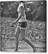 Run And Play Acrylic Print