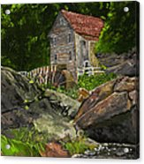Run Of The Mill Acrylic Print by Leo Gehrtz