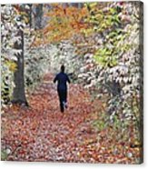 Run Through The Woods Acrylic Print