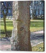 Runestone Acrylic Print