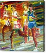Runners Acrylic Print
