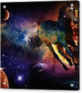 Running Horse Creation Acrylic Print