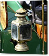 Oil Lamp Running Light Acrylic Print