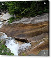 Running Over Granite  Acrylic Print