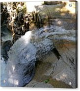 Running Waters Of Sabbaday Falls Acrylic Print
