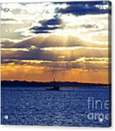 Running With The Light Acrylic Print