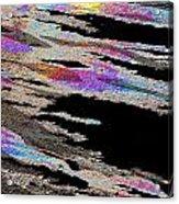 Runnoff Rainbows Acrylic Print