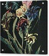 Runway Flowers Acrylic Print
