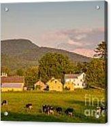 Rupert Vermont Dairy Farm Acrylic Print