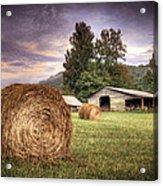 Rural American Farm Acrylic Print